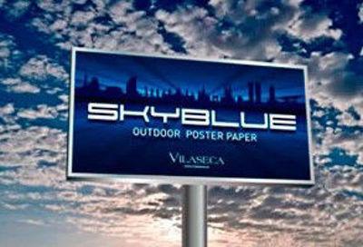 Slika SkyBlue Poster Paper 120