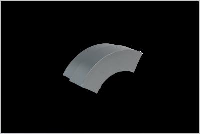 Slika SIGNax framAL, PVC pokrovček za zaobljene zunanje kotnike