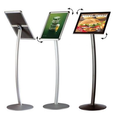 """Slika M&T Display menijsko stojalo """"Curved"""""""