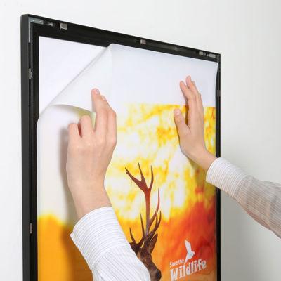 Slika MT Displays klip-klap okvirji LED - LEDbox Magneco