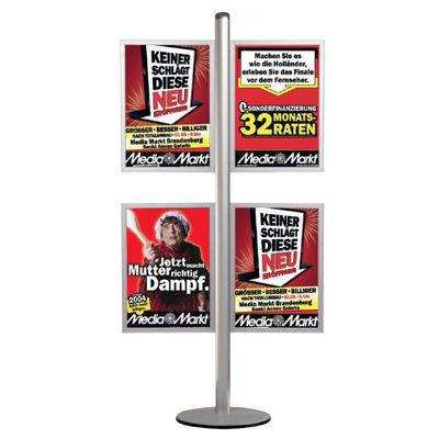 Slika M&T Displays stojalo za plakate - drsni okvir