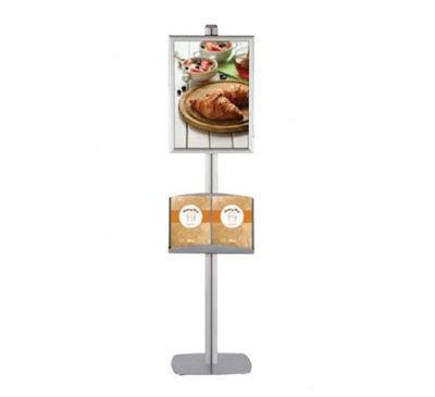 Slika M&T Displays stojalo za plakate - klip-klap okvir